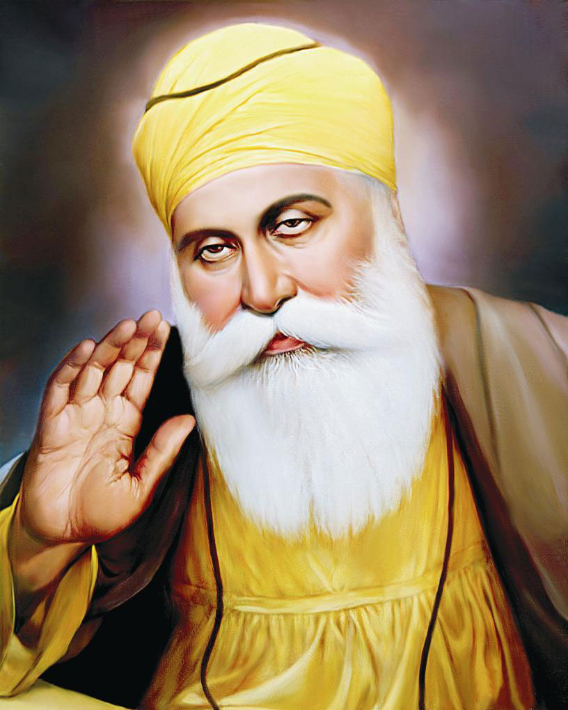 a biography of guru nanak The life of guru nanak and the religion of sikhism are discussed.
